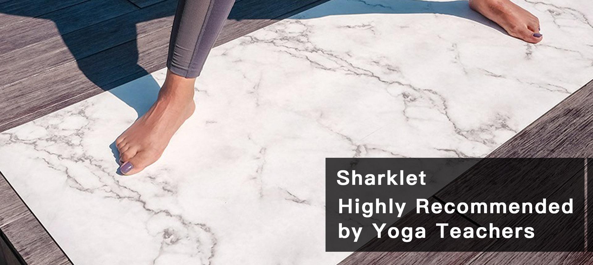 Sharklet Yoga mat