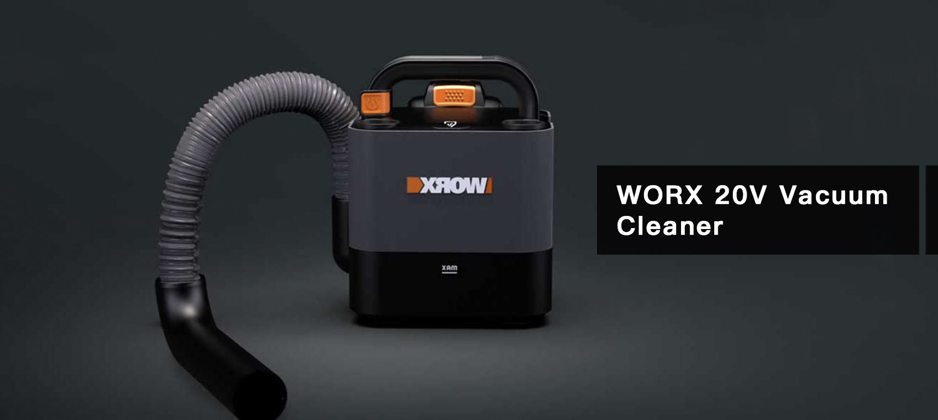WORX20V Cordless Cube Compact Vacuum Cleaner