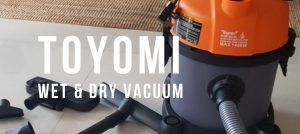 TOYOMI Wet and Dry Vacuum Cleaner