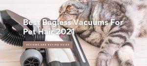 Best Bagless Vacuums For Pet Hair 2021