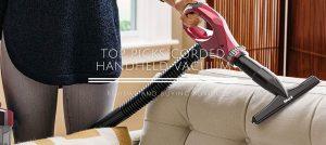 Top Picks Corded Handheld Vacuum Cleaners of 2021